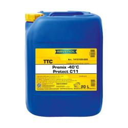Охлаждающая жидкость Ravenol TTC Protect C11 Premix -40C (20 л.) 1410105-020-01-999