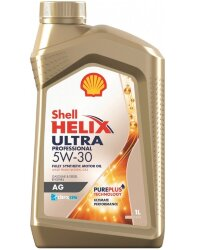 Моторное масло Shell Helix Ultra Professional AG 5W-30 (1 л.) 550046410