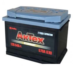 Аккумулятор АкТех Standart 64Ah 570A 242x175x190 п.п. (+-) АТST643L