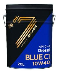 Моторное масло S-Oil Seven BLUE CI 10W-40 (20 л.) BL10W40_20