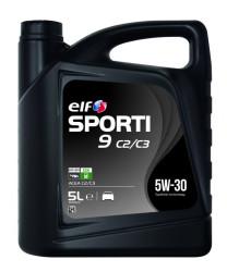 Моторное масло Elf Sporti 9 C2/C3 5W-30 (5 л.) 214330