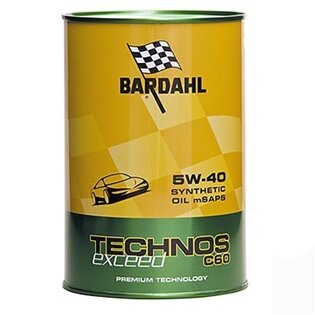 Моторное масло Bardahl Technos C60 5W-40 Exceed (1 л.) 309040