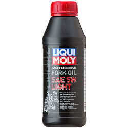 Масло Liqui Moly Mottorad Fork Oil Light 5W (0,5 л.) 7598