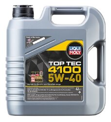 Моторное масло Liqui Moly Top Tec 4100 5W-40 (4 л.) 7547