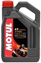 Масло четырехтактное Motul 7100 4T 5W-40 (4 л.) 104087