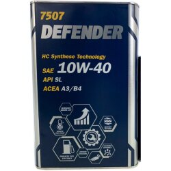 Моторное масло Mannol Defender 10W-40 (4 л.) 1148M