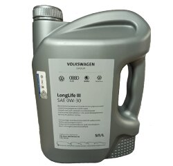 Моторное масло Volkswagen (VAG) LongLife III 0W-30 (5 л.) GR52195M4