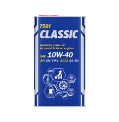 Моторное масло Mannol 7501 Classic 10W-40 (4 л.) 1101M