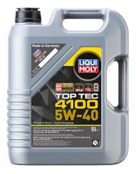 Моторное масло Liqui Moly Top Tec 4100 5W-40 (5 л.) 7501