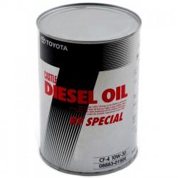 Моторное масло Toyota (Castle) Diesel Oil RV Special CF-4 10W-30 (1 л.) 08883-01906