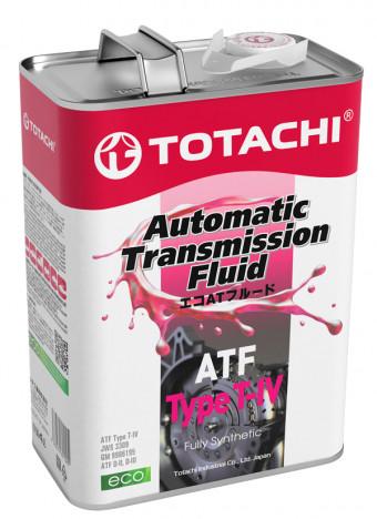 Трансмиссионное масло Totachi ATF Type T-IV (4 л.) 4562374691025