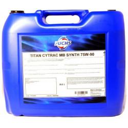 Трансмиссионное масло Fuchs Titan Cytrac MB Synth 75W-90 (20 л.) 600683962