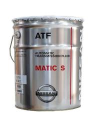 Трансмиссионное масло Nissan ATF Matic-S (20 л.) KLE27-00002
