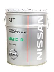 Трансмиссионное масло Nissan ATF Matic-D (20 л.) KLE22-00002