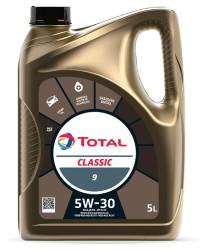 Моторное масло Total Classic 9 5W-40 (5 л.) 213696