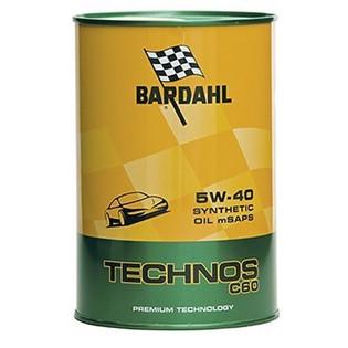 Моторное масло Bardahl Technos C60 5W-40 mSAPS (1 л.) 314040