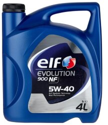 Моторное масло Elf Evolution 900 NF 5W-40 (4 л.) RO196146
