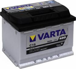 Аккумулятор Varta Black Dynamic 56Ah 480A 242x175x190 п.п. (+-) 556401048