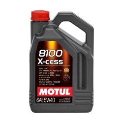 Моторное масло Motul 8100 X-Cess 5W-40 (4 л.) 104256