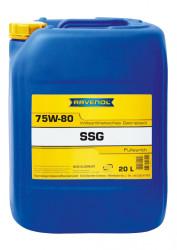 Трансмиссионное масло Ravenol SSG 75W-80 (20 л.) 1221100-020-01-999