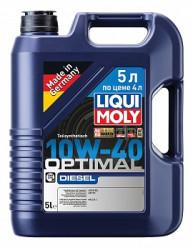 Моторное масло Liqui Moly Optimal Diesel 10W-40 (5 л.) 2288