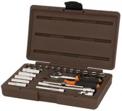 Набор головок торцевых Ombra 1/4DR, 4-13 мм., 23 предмета 911423
