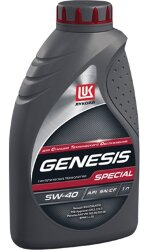 Моторное масло Лукойл Genesis Special 5W-40 (1 л.) 1599895