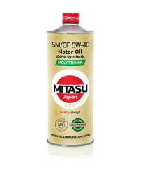 Моторное масло Mitasu MJ-M12 Moly-Trimer SM 5W-40 (1 л.) MJM121
