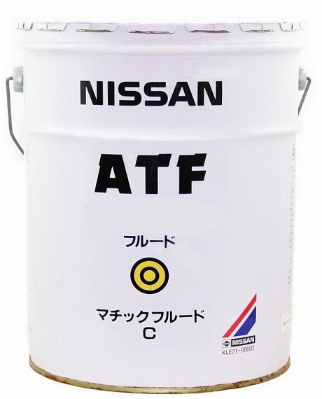 Трансмиссионное масло Nissan ATF Matic-C (20 л.) KLE21-00002