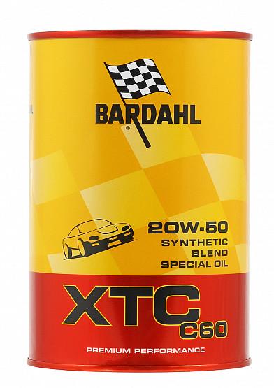 Моторное масло Bardahl XTC C60 20W-50 (1 л.) 313040