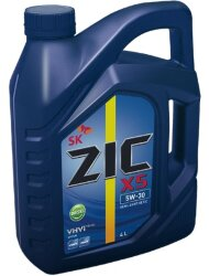 Моторное масло ZIC X5 Diesel 5W-30 (4 л.) 162671
