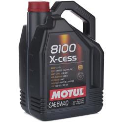 Моторное масло Motul 8100 X-Cess 5W-40 (5 л.) 102870