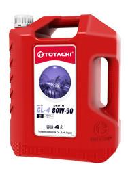 Трансмиссионное масло Totachi DENTO Gear Oil GL-4 80W-90 (4 л.) 4589904935701