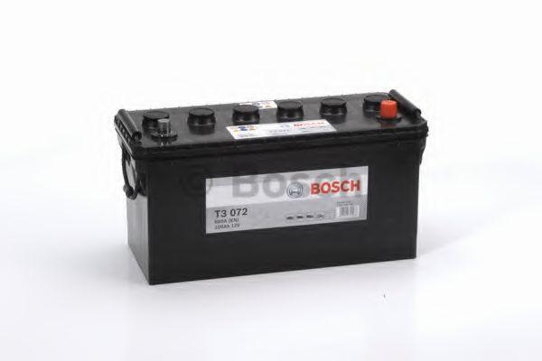 Аккумулятор Bosch T3 12V 100Ah 600A 413x175x220 о.п. (-+) 0092T30720