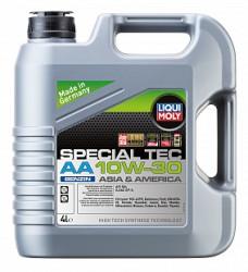 Моторное масло Liqui Moly Special Tec AA Benzin 10W-30 (4 л.) 21337