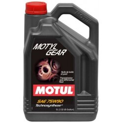 Трансмиссионное масло Motul MotylGear 75W-90 (5 л.) 106467