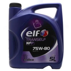 Трансмиссионное масло Elf Tranself NFP 75W-80 (5 л.) 195576
