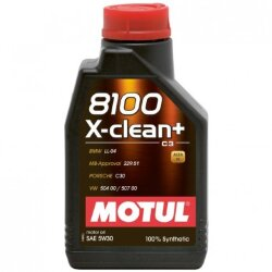 Моторное масло Motul 8100 X-Clean + 5W-30 (1 л.) 106376