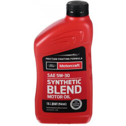 Моторное масло Ford Motorcraft 5W-30 Synthetic Blend (1 л.) XO-5W30-1QSP