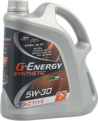 Моторное масло G-Energy Synthetic Active 5W-30 (4 л.) 253142405