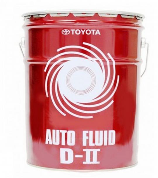 Трансмиссионное масло Toyota Auto Fluid D-II (20 л.) 08886-00303