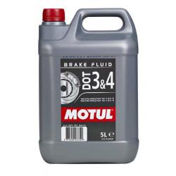 Тормозная жидкость Motul Brake Fluid DOT 3-4 (5 л.) 104247