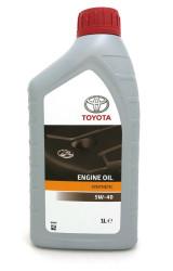 Моторное масло Toyota Engine Oil 5W-40 (1 л.) 08880-80376GO