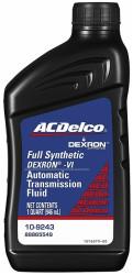 Трансмиссионное масло ACDelco Dexron-VI ATF (1 л.) 109243