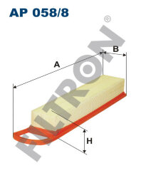 Фильтр воздушный Filtron AP0588