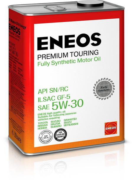 Моторное масло Eneos Premium Touring SN 5W-30 (4 л.) 8809478942216
