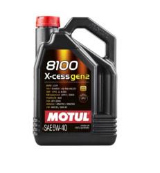 Моторное масло Motul 8100 X-Cess gen2 5W-40 (4 л.) 109775