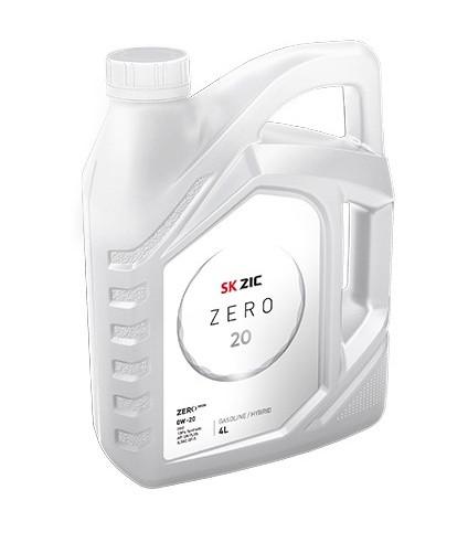 Моторное масло Zic Zero 0W-20 (4 л.) 162035