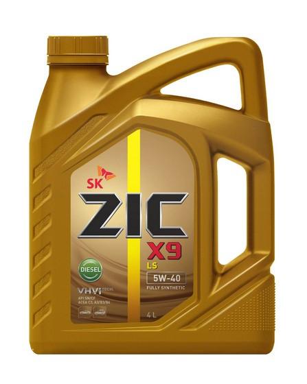 Моторное масло ZIC X9 LS Diesel 5W-40 (4 л.) 162609
