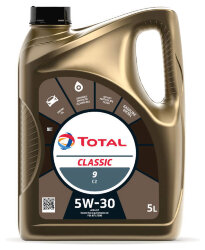 Моторное масло Total Classic 9 C2 5W-30 (5 л.) 213856